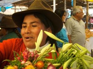 The Sunday morning market in Abancay