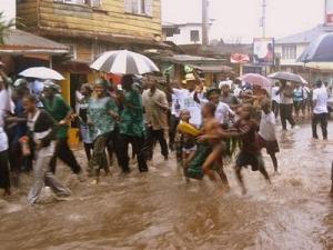 sierra leone freetown rain