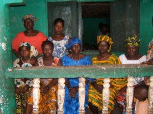 The women of Mabella, Freetown