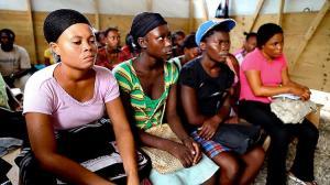 haiti women 4 shot