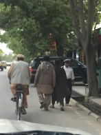 Women are not generally visible around Kabul